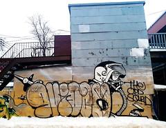 Graffiti - Métro Beaubien, Montréal