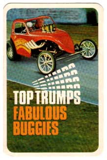 Fabulous Buggies Top Trump pack cover card