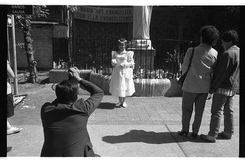 First communion, Santiago 1992.