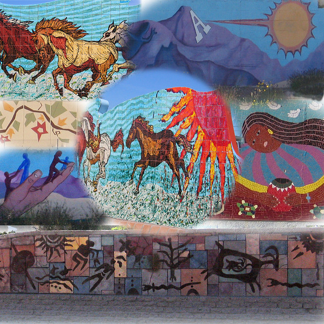 Murals Montage  DILO  Flickr  Photo Sharing!