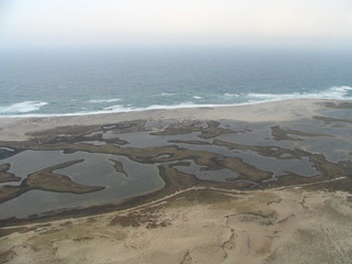 Megan's trip to Sable Island - Aerial View