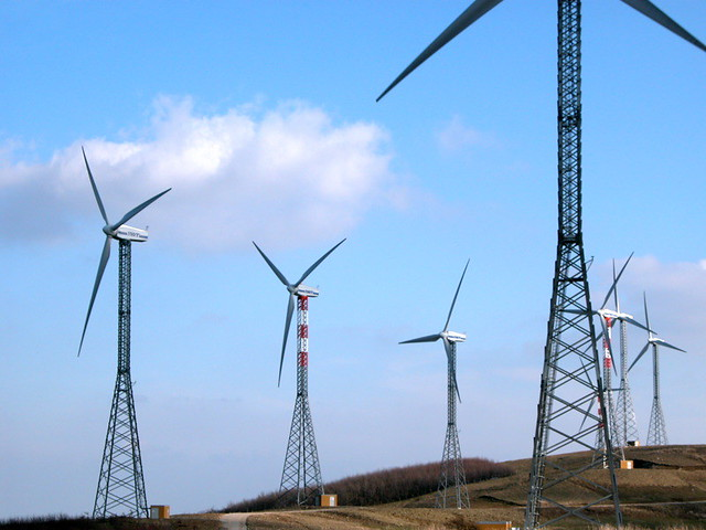 Wind power plant] | Flickr - Photo Sharing!