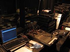 stage(0.0), audio engineer(0.0), screenshot(0.0), studio(1.0), recording(1.0),