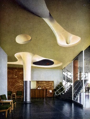 Magic Chef Building -- Noguchi ceiling