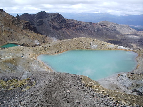 Emerald Lakes, 1750m up (ish)