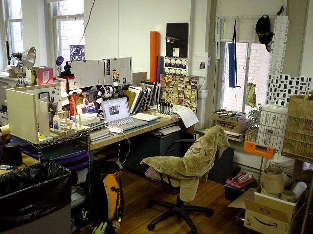 My Studio Desk 03.24.05, Sony DSC-U40