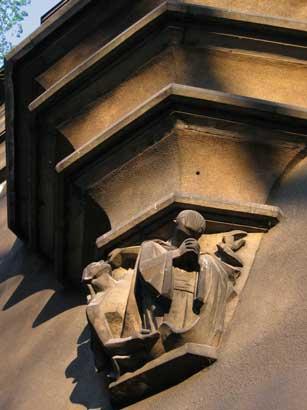 Krakow Pillar Detail