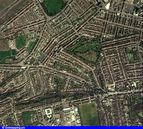 Swindon United Kingdom  city pictures gallery : Aerial shot of Swindon, Wiltshire, UK | Flickr Photo Sharing!
