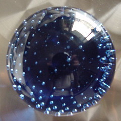 Blue Bubled Ball