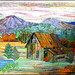 """Autumn at the Cabin""  - Denver National Quilt Show"