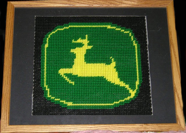 Plastic Canvas Patterns John Deer http://www.flickr.com/photos/dogluvr00/156611072/