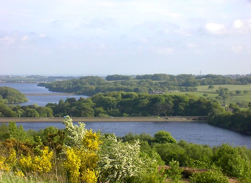 Anglezarke reservoir and beyond