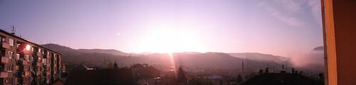 panorama sunrise geotagged sarajevo bosnia may 2006 bih geolat4386635589324998 geolon1842240886489246
