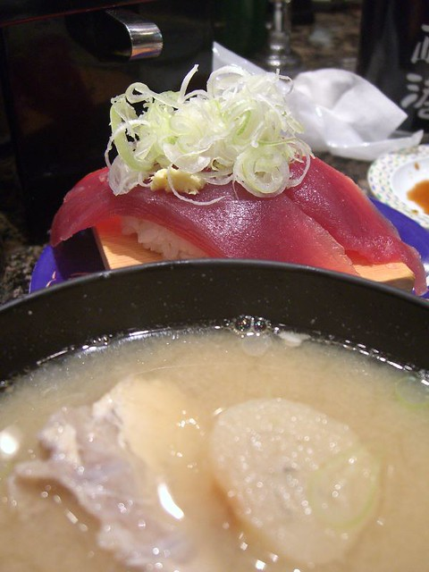 Fish Bone Soup And Tuna Sushi Kamakura Flickr Photo