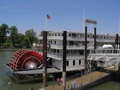 Sacramento River, OId Sacramento, California