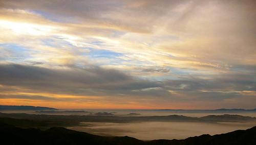 county orange clouds sunrise san 330 hwy bernardino scenescape