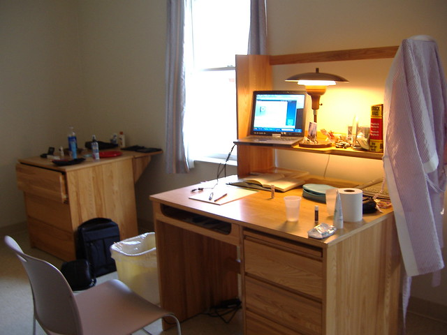 My Dorm Room At Moravian College Was Big And Bare And