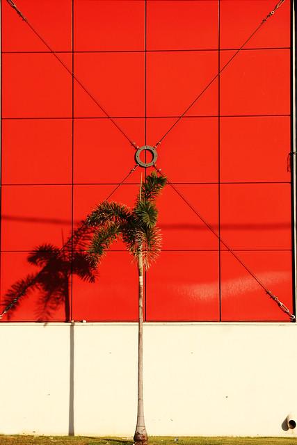 diagonals red