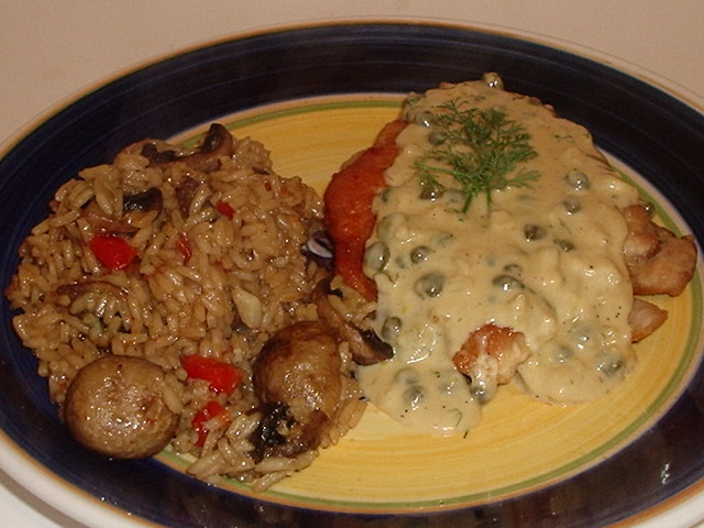 Chicken Breast in a Caper Cream Sauce | Flickr - Photo Sharing!