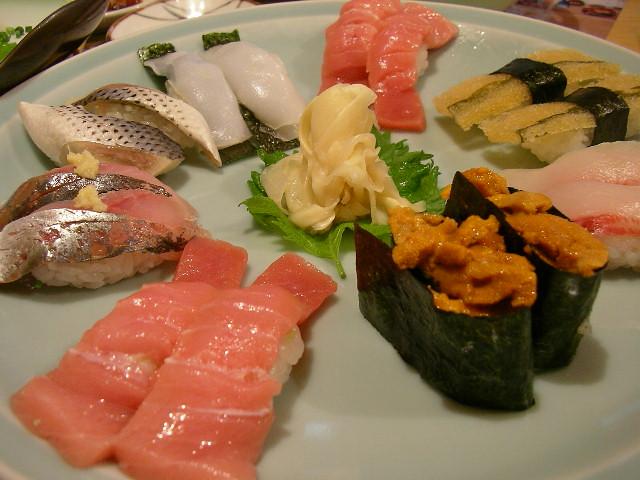 Sea urchin sushi taste