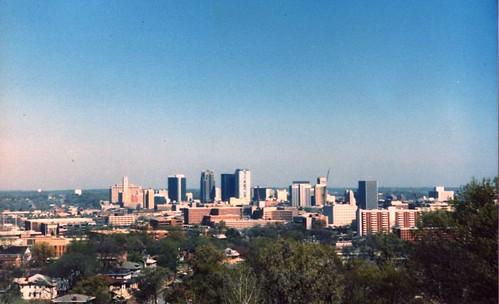 Birmingham skyline 1988