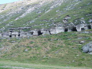Image of Orheiul Vechi near Cocieri. nature geotagged hiking caves monastery aurelia moldova orheiulvechi geo:lat=4730165 geo:lon=2897965