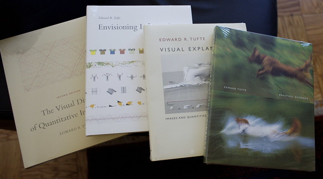 Edward Tufte Data Visualization Books