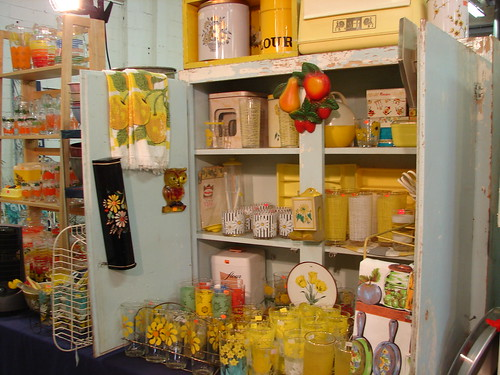 Lakewood Antiques Market - 1950's Yellow