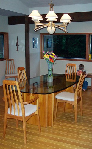 Our new dining room table