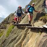 Easy Via Ferrata on the Stubai
