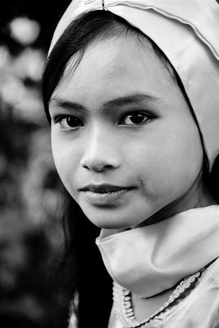 Young girl, Lombok, Indonesia