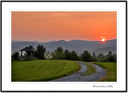 mountains sunrise virginia canon20d