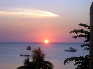 P1220092-Sunset in Jamaica