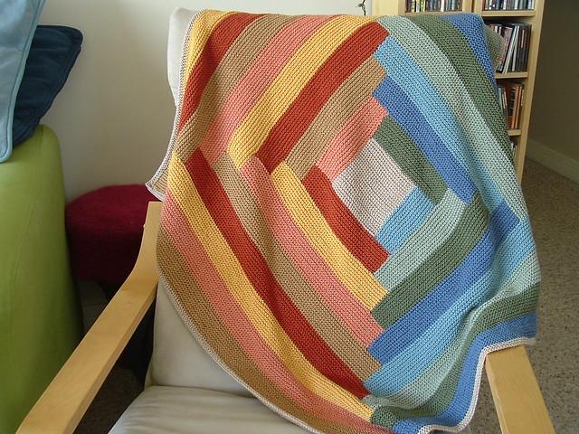 Log Cabin Baby Blanket, Fujifilm FinePix A205