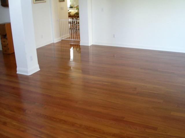 Brazilian cherry brazilian cherry hardwood photos for Hardwood floors hurt feet