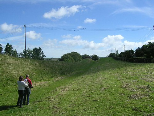 The ditch E of Gilsland