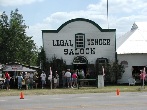 Legal Tender Saloon, Warrenton, TX