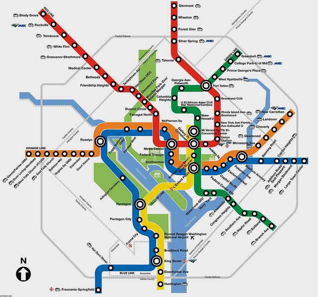 Washington DC Metro Map | Best Viewed Large .washingtonpo… | Flickr