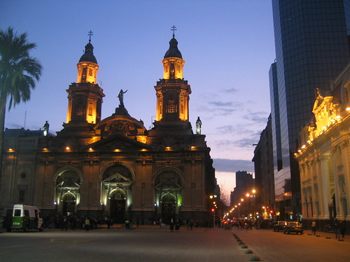 Church at Plaza de Armas