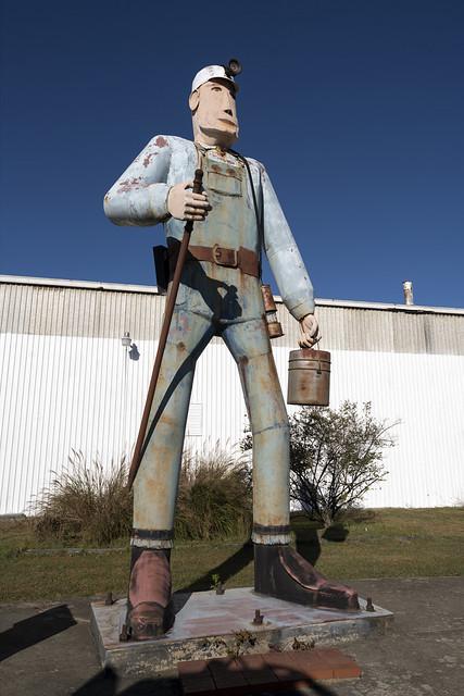 Coal Miner Charlie, Shinnston, WV