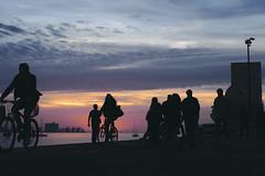 Pedaling until the sun goes down #street #lisbon #t3mujinpack