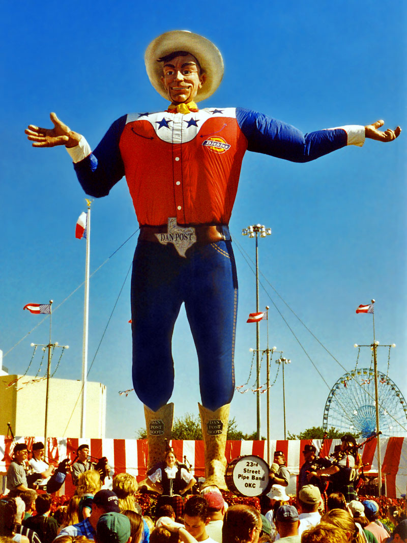Big Tex, Texas State Fair, Dallas