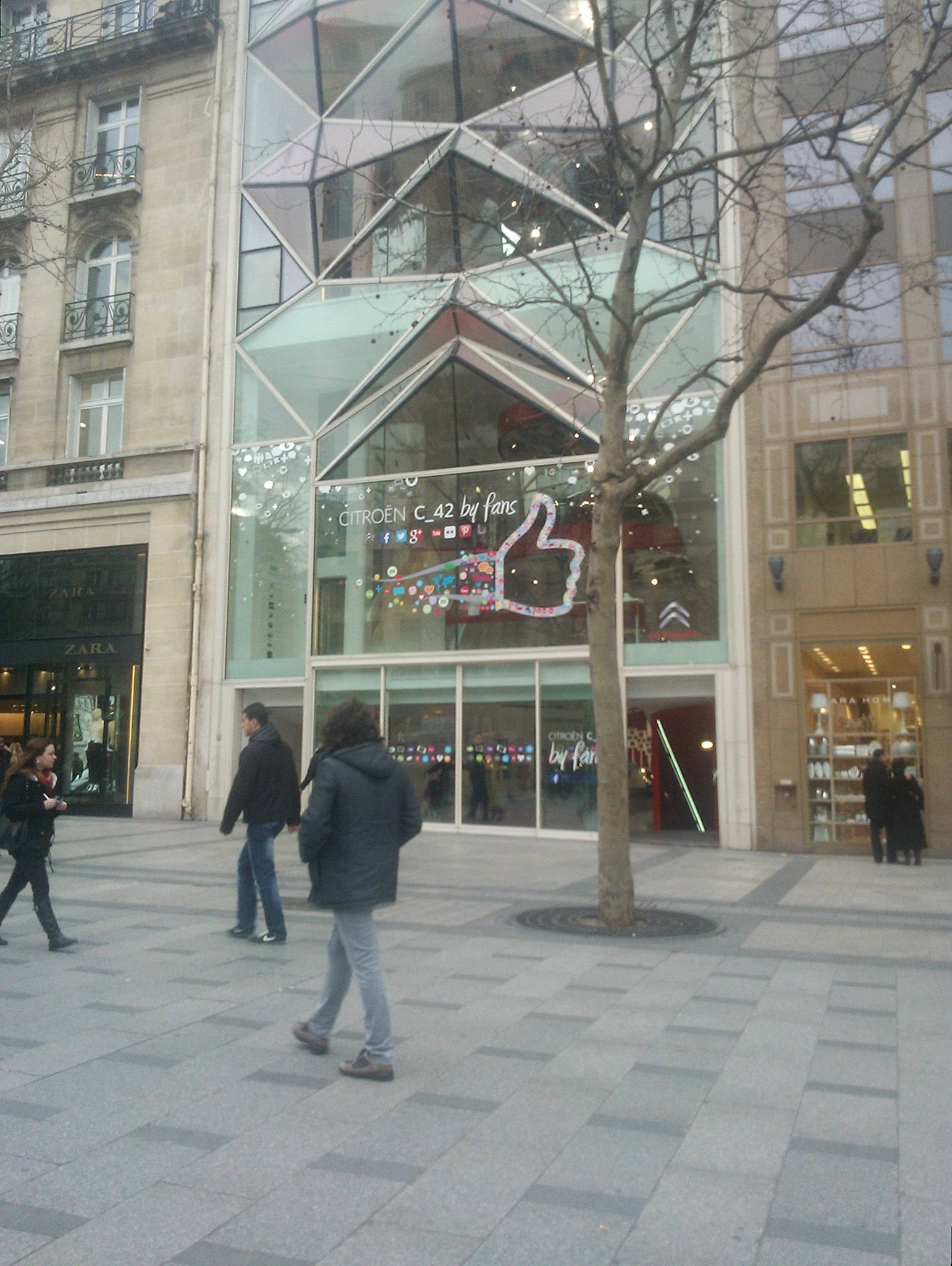 Citroen - Champs Élysées