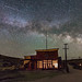 A Comet and the Milky Way over Bodie Ghost Town by Dave Toussaint (www.photographersnature.com)