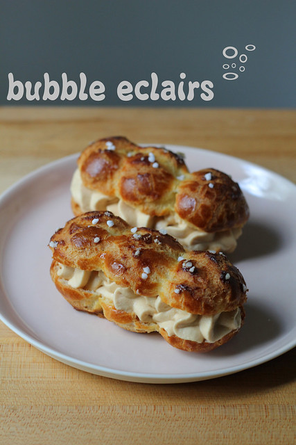 bubble eclairs