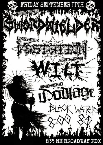 9/11/15 SwordWielder/Vastation/Wilt/Dodlage