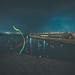 Glow sticks and lamps shone the dark sea. by kurousagi28