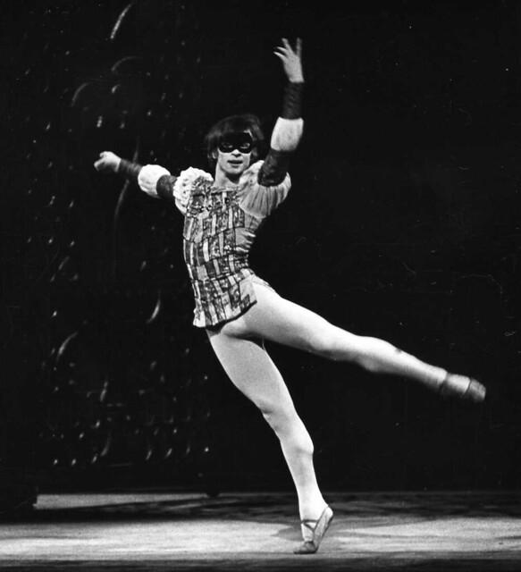 Rudolf Nureyev as Romeo in Romeo and Juliet, 1965 © ROH/Roger Wood, 1965