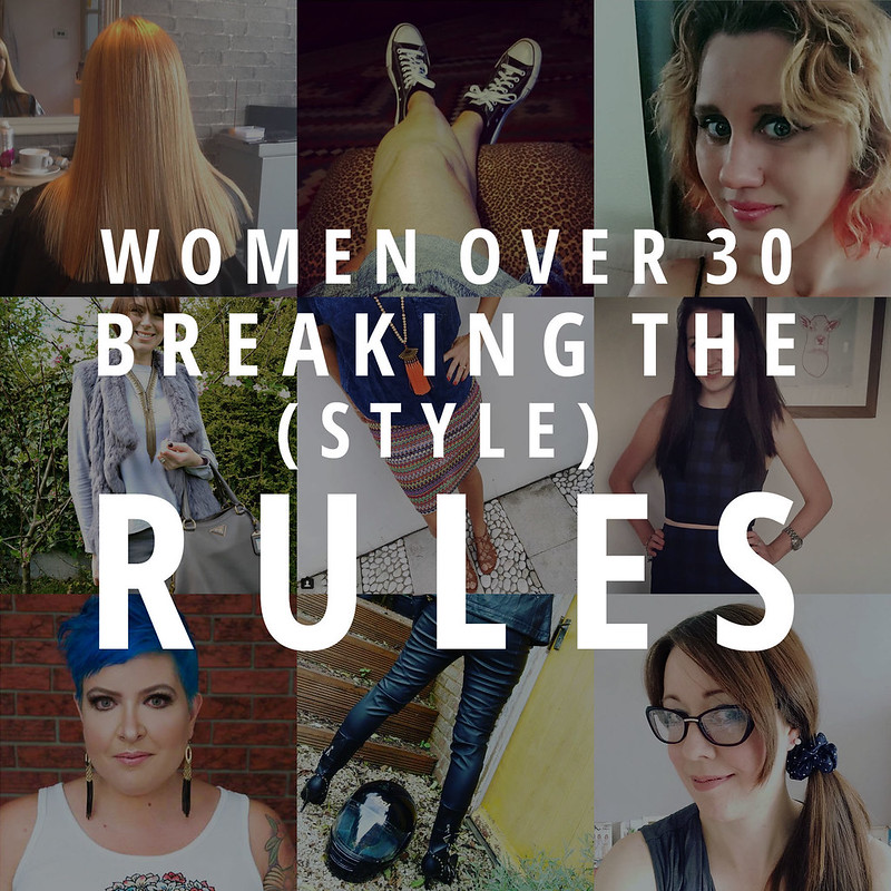 Women over 30 breaking the style rules | Not Dressed As Lamb