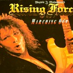 "YNGWIE MALMSTEEN'S RISING FORCE MARCHING OUT 12"" LP VINYL"